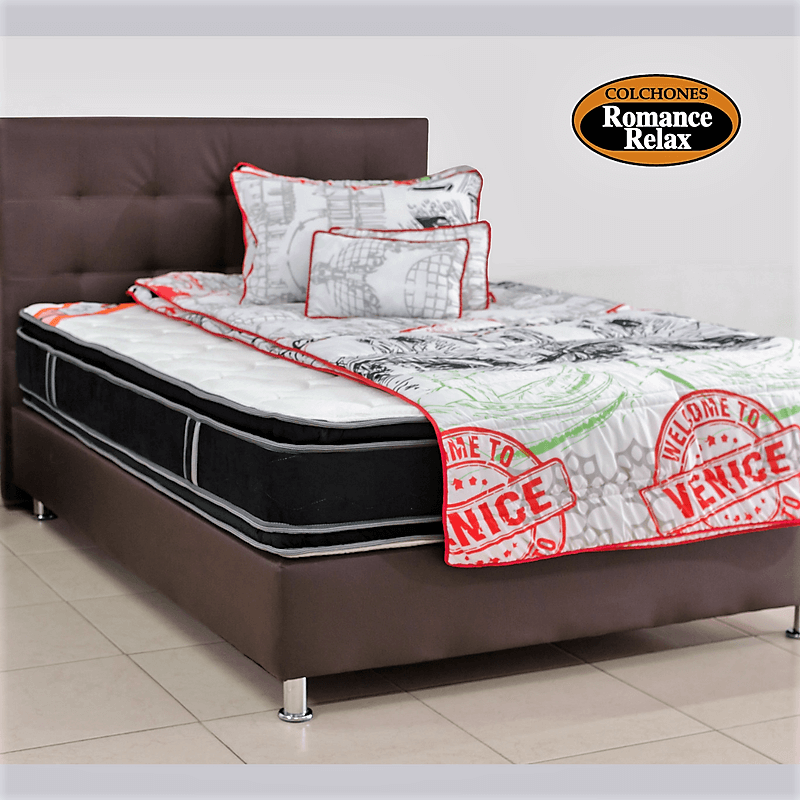 promocion colchones romance relax colchon en casata ortopedico 120x190. Black Bedroom Furniture Sets. Home Design Ideas