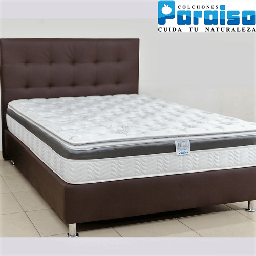 COLCHON ORTHOLIFE PLUS 200x200 + BASE + PROTECTOR + ALMOHADAS