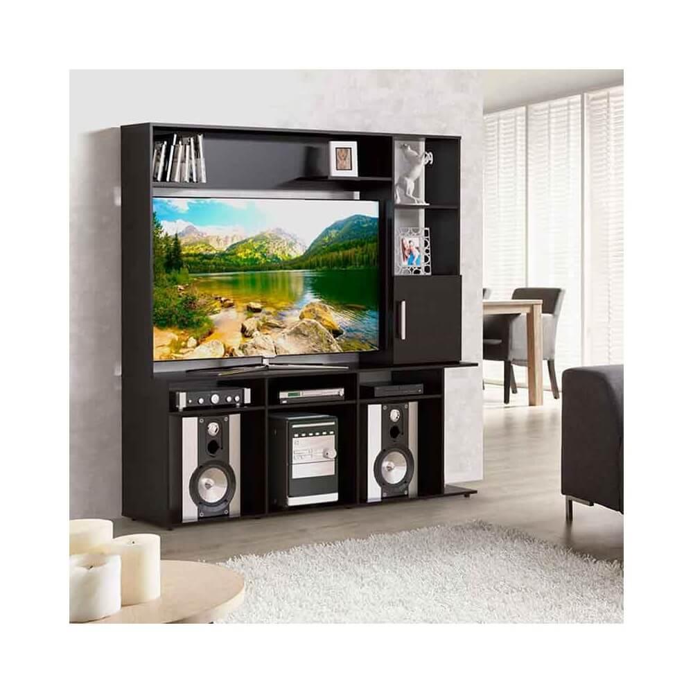 Centro De Entretenimiento Colhogar Muebles Colchones # Muebles Sencillos Para Tv