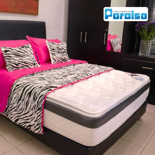 COLCHON ORTHOLIFE PLUS 120X190 + BASE + PROTECTOR + ALMOHADA