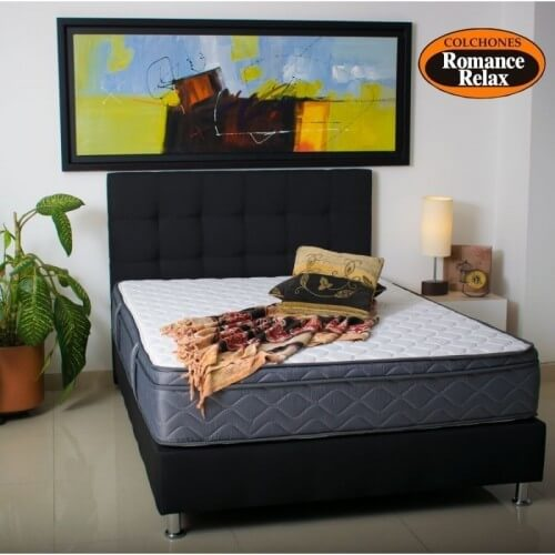 COLCHON SENSATION DUO BLACK 200X200 + BASE