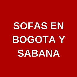Sofas en Bogotá y Sabana
