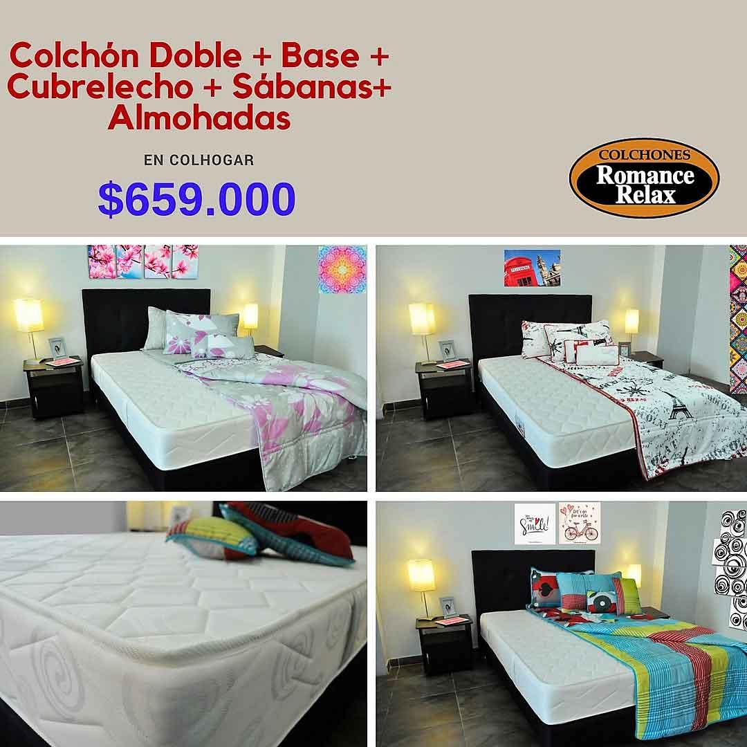 Colhogar Las Mejores Marcas De Colchones Para So El Dorado  # Muebles Relax Barranquilla